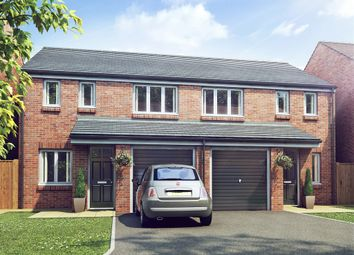 "Thumbnail 3 bed semi-detached house for sale in ""The Rufford"" at Norton Hall Lane, Norton Canes, Cannock"