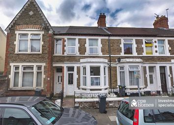 Thumbnail 4 bed terraced house for sale in Talworth Street, Roath, Cardiff