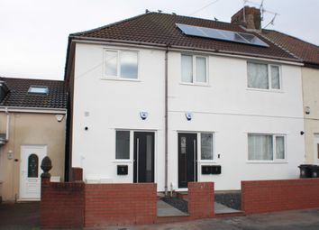 Thumbnail 1 bed end terrace house for sale in Donald Road, Bedminster Down, Bristol