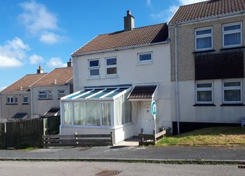 Thumbnail 3 bed end terrace house for sale in Tregundy Road, Perranporth