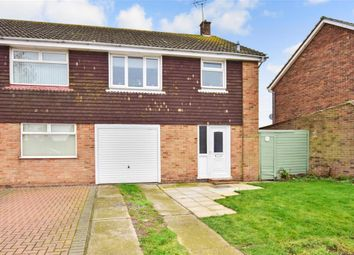 Thumbnail 3 bed semi-detached house for sale in Golf Road, Deal, Kent