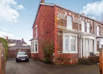 Thumbnail 3 bed semi-detached house for sale in Grove Road, North Ormesby, Middlesbrough