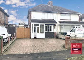 Thumbnail 2 bed semi-detached house to rent in Carlton Avenue, Wednesfield, Wolverhampton