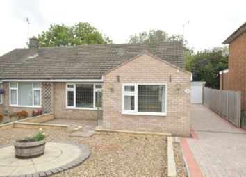 Thumbnail 2 bed semi-detached bungalow for sale in Gwendoline Drive, Countesthorpe, Leicester