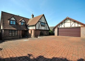 Thumbnail 5 bed detached house to rent in Stansted Road, Bishops Stortford, Hertfordshire