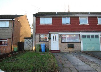 Thumbnail 3 bed semi-detached house for sale in Highclere Road, Aldershot