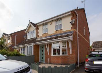 Thumbnail 3 bed town house to rent in Lancelot Close, Leicester Forest East, Leicester
