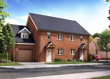 Thumbnail 3 bed semi-detached house for sale in Horning Road, Hoveton, Norwich, Norfolk
