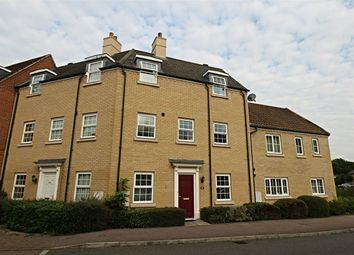 Thumbnail 3 bed town house for sale in Christie Drive, Huntingdon