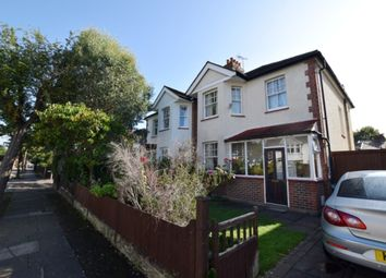Thumbnail 3 bed semi-detached house for sale in Marksbury Avenue, Kew, Richmond, Surrey
