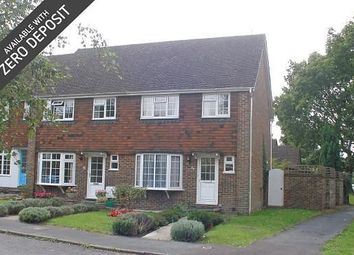 Thumbnail 3 bed end terrace house to rent in Timberlands, Storrington
