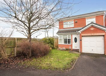 Thumbnail 3 bed detached house for sale in Tewkesbury Drive, Bedworth, Warwickshire