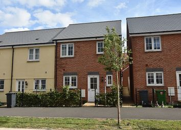Thumbnail 3 bed end terrace house for sale in Younghayes Road, Cranbrook, Near Exeter
