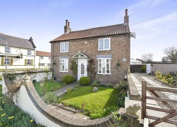 Thumbnail 3 bed detached house for sale in Thwing Road, Burton Fleming, Driffield