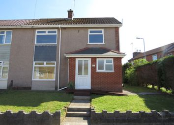 Thumbnail 3 bedroom end terrace house for sale in Penrhiw Road, Morriston, Swansea
