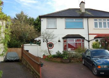 Thumbnail 3 bedroom semi-detached house to rent in Beech Avenue, Buckhurst Hill