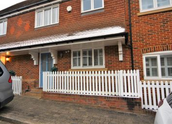 Thumbnail 3 bed terraced house to rent in Shoesmith Lane, Kings Hill, West Malling