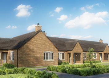 Thumbnail Terraced bungalow for sale in Meadow Walk, Saxilby, Lincoln
