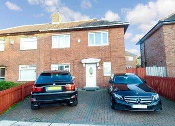 Thumbnail 2 bedroom semi-detached house for sale in Devonshire Drive, Holystone, Newcastle Upon Tyne