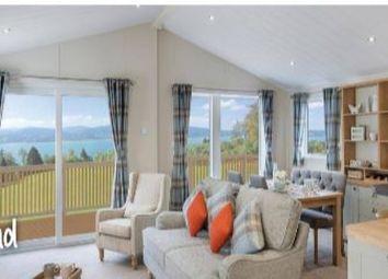 Thumbnail 3 bed mobile/park home for sale in Willerby Portland Lodge, Hafan Y Mor Holiday Park, Pwllheli, Gwynedd