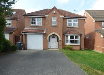 Thumbnail 4 bed detached house for sale in Badcock Way, Fleckney, Leicester, Leicestershire