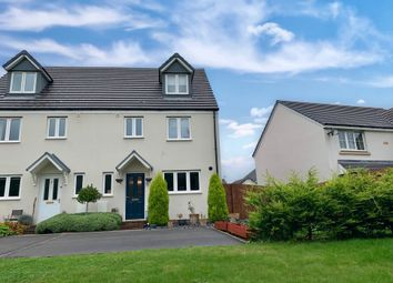 Thumbnail 4 bedroom semi-detached house for sale in Ymyl Yr Afon, Hawthorn, Pontypridd