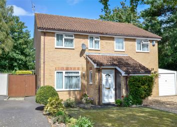 Thumbnail 3 bed semi-detached house for sale in Camellia Close, Three Legged Cross, Wimborne, Dorset