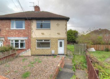 Thumbnail 2 bed semi-detached house for sale in Luke Crescent, Murton, Seaham