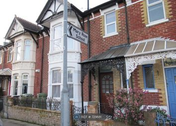 Thumbnail 3 bed terraced house to rent in Locksway Road, Southsea