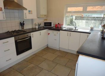 Thumbnail 4 bed terraced house to rent in Malefant Street, Cathays Cardiff