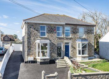 Trevu Road, Camborne TR14. 4 bed semi-detached house for sale