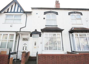 Thumbnail 3 bed terraced house for sale in Elmhurst Road, Handsworth, Birmingham