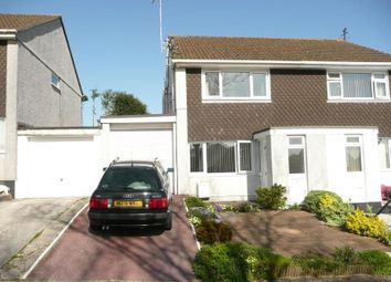 Thumbnail 2 bed semi-detached house to rent in Laura Drive, Boscoppa, St. Austell