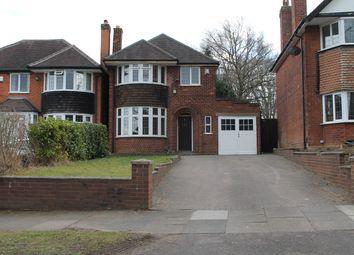 3 bed detached house to rent in Greenridge Road, Handsworth Wood, Birmingham B20