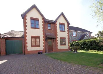 Thumbnail 4 bed detached house for sale in Grafton Close, Priddys Hard, Gosport