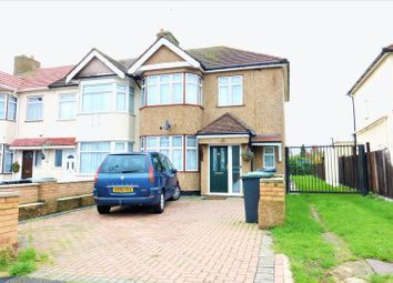 Thumbnail 3 bed terraced house for sale in Monroe Crescent, Enfield