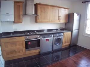 Thumbnail 4 bed flat to rent in Burstock Road, London