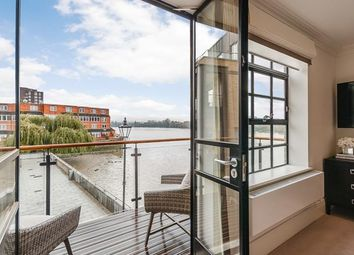 Thumbnail 3 bed flat to rent in The Cottage, Palace Wharf, Hammersmith, London