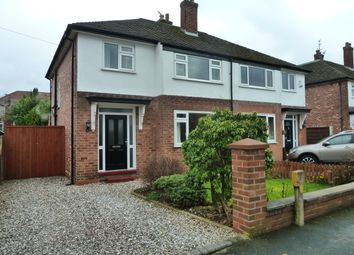 Thumbnail 3 bed semi-detached house to rent in Bakewell Road, Hazel Grove, Stockport