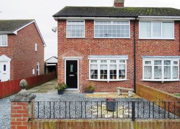Thumbnail 3 bed semi-detached house for sale in Chestnut Crescent, Holme-On-Spalding-Moor, York