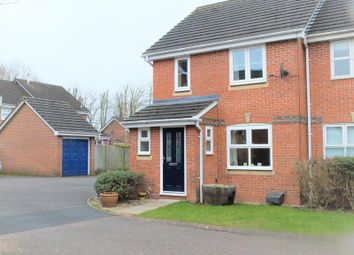 Thumbnail End terrace house for sale in 20 Bronte Drive, Ledbury, Herefordshire