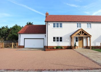 Thumbnail 3 bed semi-detached house for sale in Bumbles Green, Nazeing, Essex.
