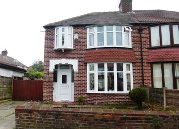 Thumbnail 3 bedroom semi-detached house for sale in Arnfield Road, Withington