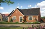 Thumbnail 3 bed detached bungalow for sale in Harvey Lane, Dickleburgh, Diss, Suffolk