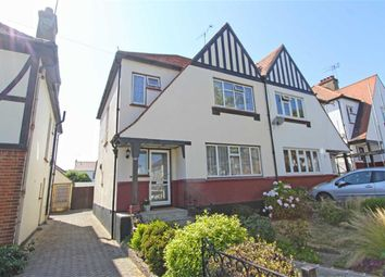 Thumbnail 3 bedroom semi-detached house for sale in Marlborough Road, Southend On Sea, Essex
