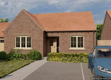 Thumbnail 2 bed detached bungalow for sale in East Lane, Corringham, Gainsborough