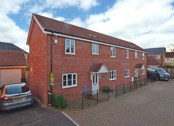 Thumbnail 3 bedroom semi-detached house for sale in Southbrook Meadow, Cranbrook, Exeter
