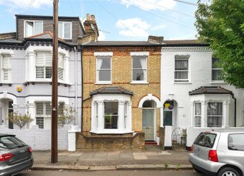 Thumbnail 3 bed terraced house for sale in Rowena Crescent, Battersea, London