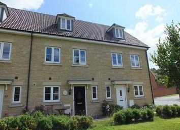 Thumbnail 3 bed town house for sale in Suffolk Road, Westbury, Wiltshire