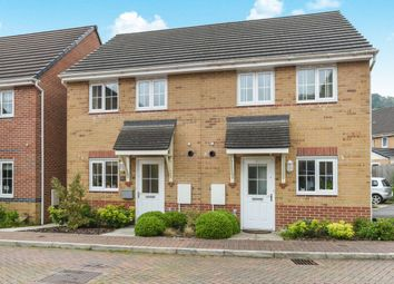 Thumbnail 2 bed semi-detached house for sale in Mill Race, Abercarn, Caerphilly